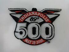 2005 89th Indianapolis 500 Event Collector Patch Dan Wheldon Andretti Autosport