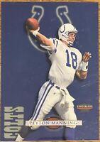 Peyton Manning - 1998 Playoff Contenders Jumbo Checklist - RC - Class of '21 HOF