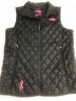 NORTH FACE Ladies Med Thermoball Breast Cancer Ribbon Black & Pink NEW Sz small