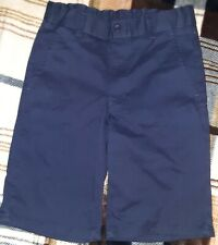 Euc Nautica Boys Navy Blue Adjustable Waist Casual or Uniform Shorts Size 10