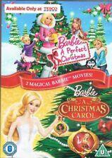 Barbie: A Perfect Christmas/A Christmas Carol 2 Magical Barbie Mo... - DVD  G6VG