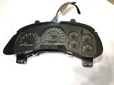 2002 - 04 Chevy Trailblazer Speedometer Gauge Cluster 15085490; 209, 000K
