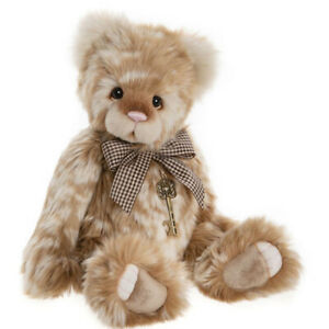 Peach Cobbler, an 18 inch Bear from the 2020 Charlie Bears Collection