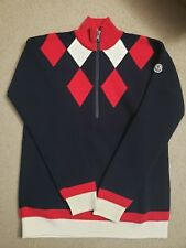 NWT Moncler Women Half-zip Sweater Size S MSRP 725