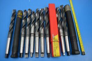 Metric HSS Morse Taper 2 MT2 Drill Bits x 9. 19mm - 23mm Cleveland Guhring