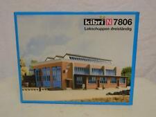 Kibri N Gauge Plastic Model Kit DB Loco Shed Box 7806