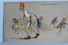"""Postcard. Egyptian Humour. Serie 1- No. 8. """"Come to the Caracol"""". 1916."""