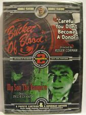 Bucket of Blood / My Son the Vampire (DVD, 2002) NEW! Vintage Horror