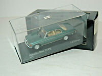 Mercedes-Benz W 123 Coupe 230 CE Turquoise / petrol - 1977 - Minichamps 1:43!