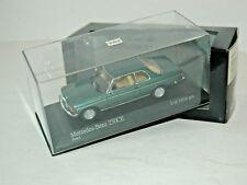 Mercedes-Benz W 123 Coupe 230 CE Turquoise / petrol - 1977 - Minichamps 1:43!