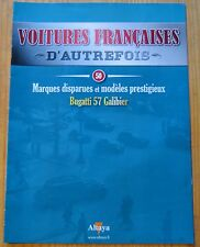 Voitures françaises d'autrefois, Altaya, n°50, Bugatti 57 Galibier