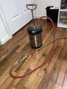 Ecolab 1 Gallon Pest Control Sprayer With Wand Sprayer Needs New Nozzle Tip