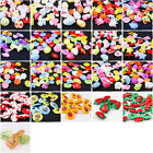 100PCS x Mixed Colors Plastic Buttons Baby Kids Sewing Backhole Shank DIY Craft