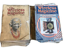More details for 1920s the wireless magazine collection +vol1#1 popular practical age valve radio