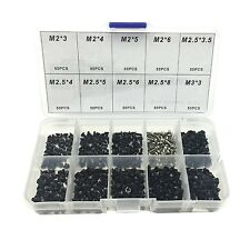 500pcs Laptop Notebook Computer Screw Kit Set For IBM HP Dell Lenovo Samsung ...