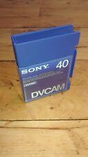 Sony PDVM - 40N (PDVM 40N) 40 m DVCAM (Standard cassette)