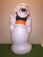 """New Rare Vintage 32"""" Halloween """"Treat Character Ghost"""" Lighted Blow Mold Decor"""