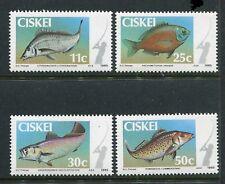 Ciskei 65-68, MNH, 1984 Marine Life  x29468