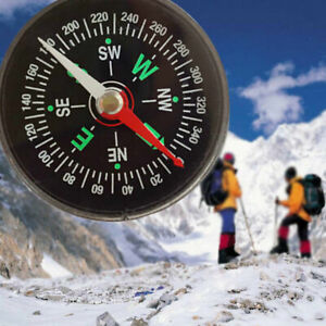 New Camping Outdoor Hiking Flüssig-Öl Compass Survival Compass Mini-Kompass P3F1