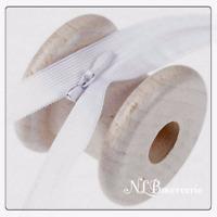 Fermeture éclair, à glissière invisible 35 ou 50 cm - Noir ou blanc