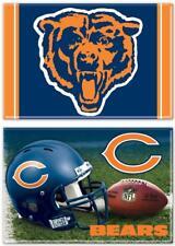 Chicago Bears foto imán juego 2, NFL football, Team logotipo y casco, New