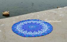 """Indian 72"""" Round Mandala Roundie Beach Throws Yoga Mat Bohemian Table Cloths"""