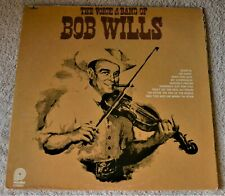 """The Voice & Band Of Bob Wills / 1978 Pickwick Records 12""""LP"""