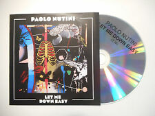 PAOLO NUTINI : LET ME DOWN EASY ♦ CD SINGLE PORT GRATUIT ♦