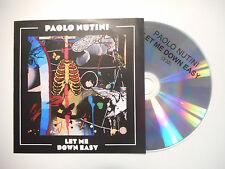 PAOLO NUTINI : LET ME DOWN EASY ♦ CD SINGLE PORT GRATUIT ♦