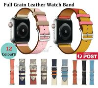 【Genuine Leather】Band Strap for Apple Watch iWatch Series 5 4 3 21 38/40,42/44mm