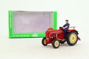 Siku Farmer 3461; Porsche Diesel Tractor Super 308; Red; Excellent Boxed
