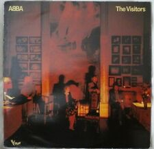 "ABBA THE VISITORS ON FRENCH 'VOGUE' LABEL 12"" ALBUM 33RPM 1980s EURO POP EX/EX"