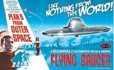 Polar Lights 970 Plan 9 From Outer Space Flying Saucer plastic model kit 1/48