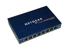 Netgear FS108 FAST ETHERNET Commutateur 8 PORT 10/100 Mbps COMMUTATEUR 13