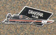 B5 PIN PERFUME PARFUM DRAKKAR NOIR RACING TEAM RARE PARIS GUY LAROCHE PARFUMS