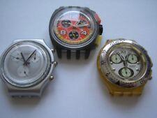 3er-set, swatch Aqua-Chrono-Montres Comme un aimant (m08)/Super cadeau pour collectionneurs