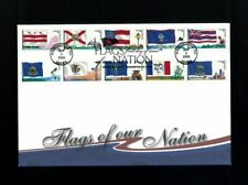 2008 Washington DC Flags of Our Nation State Flags Fleetwood First Day Cover