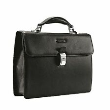 Piquadro Modus Dark brown 'small sized' briefcase with two gussets CA1153MO/TM2