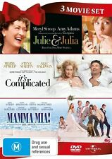 Meryl Streep Collection - Julie & Julia / It's Complicated / Mamma Mia! (DVD, 2011, 3-Disc Set)