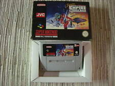 SUPER NINTENDO SNES SUPER STAR WARS EMPIRE STRIKE BACK PAL ESPAÑA USADO
