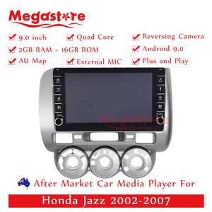 "9"" Quad Core Android 10.1 Car non dvd head unit usb GPS For Honda Jazz 2002-2007"
