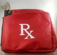 RX Medication Combination/key Lock Bag Free Shipping