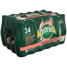 PERRIER Pink Grapefruit Flavored Sparkling Mineral Water, 16.9 fl oz.,Pack of 24
