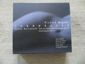cd classique coffret 3 cd richard wagner tannhauser  occasion