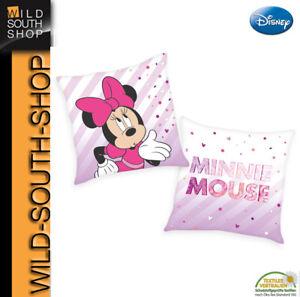 Disney`s Minnie Mouse Kuschelkissen Kissen Schmusekissen 40x40cm, gefüllt NEU