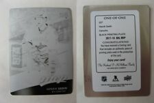 2017-18 UD MVP #227 Sedin Henrik 1/1 black plate base 1 of 1 Canucks Sweden