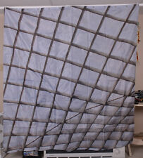 Geometric Skylight Shower Curtain