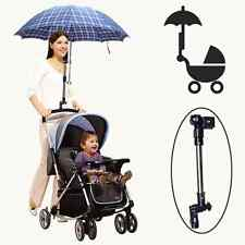 Wheelchair Bicycle Baby Buggy Pram Stroller Umbrella Holder Mount Stand Handle