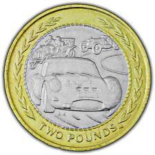 Isle of Man 1998 Vintage Rally Car £2 Coin (Circulated)