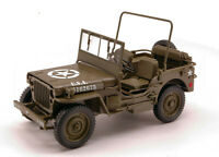 Coche Auto Escala 1:18 Welly Jeep Willys 14 Ton US Army Camión diecast Mode